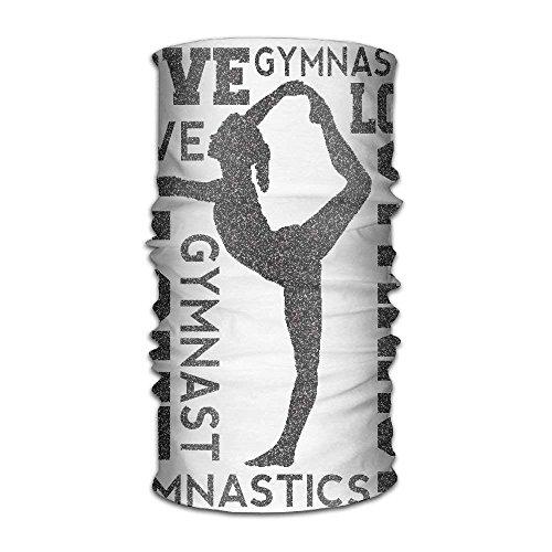 Jolly2T Love Gymnastics Gymnast Fashionable Outdoor Hundred Change Headscarf Original Multifunctional Headwear
