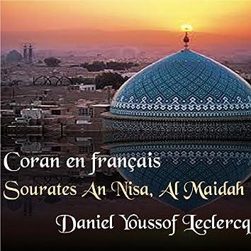 Sourates An Nisa, Al Maidah (Coran en français)