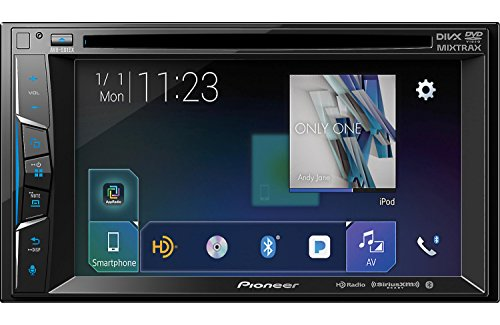 Pioneer AVH-501EX 6.2 Inch DVD Receiver with HD Radio and Bluetooth