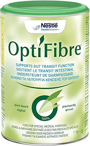OptiFibre Powder, Neutral Flavour, 125g Tin (Gluten-Free, Soluble Dietary Fibre, Natural Solution for Constipation and Bloating)