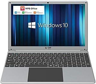 GLM 薄型 ノートパソコン 15.6インチ 大画面 PC テンキー 搭載 日本語キーボード  WPS Office / Windows 10 / Celeron /メモリ 8GB / SSD 256GB / WIFI / USB3.0 / H...