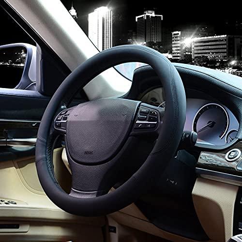 Valleycomfy Microfiber Leather Steering Wheel Covers