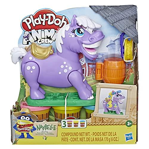 Play-Doh Animal Crew Naybelle Showpony, Knete für fantasievolles und kreatives Spielen