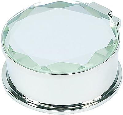 Round Box W/Mirror Cover