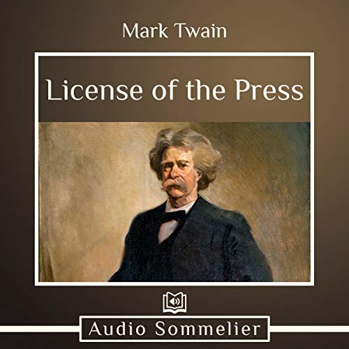 License of the Press audiobook cover art