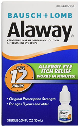 Alaway Antihistamine Eye Drops, 0.34 fl oz (10 ml)