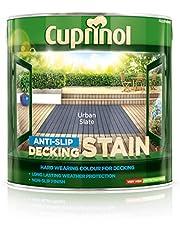 Cuprinol UTDSUS25L Anti Slip Decking Stain Urban Slate 2.5 Litre