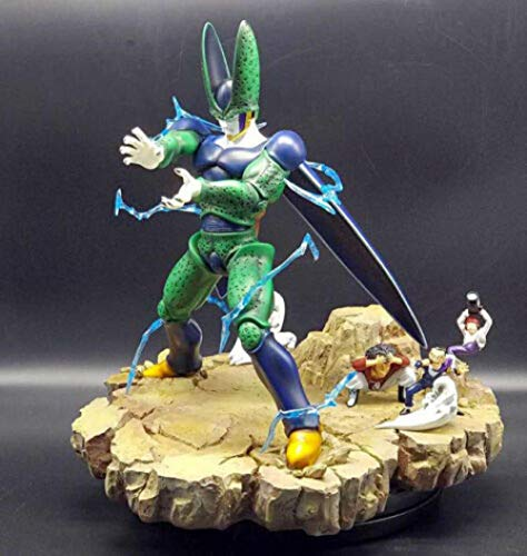 MNZBZ Anime Figures Dragon Ball Z 1/6 Lightning Cell Resin GK Collection Scale Statue