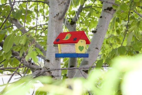 Windhager Vogelfuttersilo-Bausatz Woodpecker, beige - 8