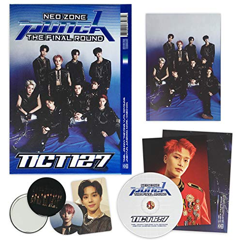 NCT 127 2nd Repackage Album - NCT # 127 NEO ZONE : THE FINAL ROUND [ 2nd Player ] CD + Booklet + Post Card + Folding Poster + Photocard + Circle Card + FREE GIFT