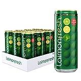 Laimon Fresh Bebida Carbonatada de Limón, Lima y Menta, 330 ml lata, pack 12 unid