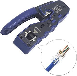 Preciva Dupont Outil de Sertissage AWG26-18 Dupont Sertisseuse /à Cliquet avec 1550PCS Dupont M/âle//Femelle Connecteurs /à broches 0,1-1,0mm/² et 460PCS JST Connecteur pour 2,54mm 3,96mm etc Connecteur