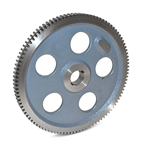 "Boston Gear GD48B Plain Change Gear, 14.5 Degree Pressure Angle, 12 Pitch, 1.000"" Bore, 48 Teeth, Cast Iron"