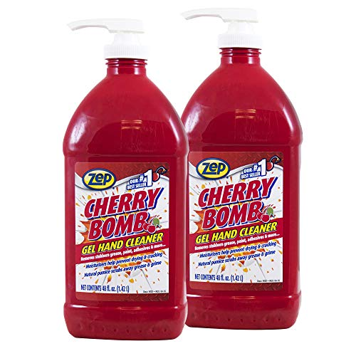 Zep Cherry Bomb Hand Cleaner 48 ounce ZUCBHC48CA (Case of 2) - Available for all 50 states!