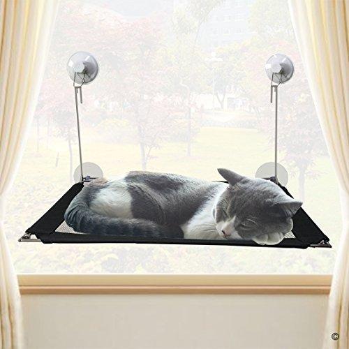 猫 ハンモック ニューバージョン, YOYOCAT 猫 窓 ウィンドウ ガラス 吸盤 吸着する : ペット 用品, 通気性 夏用 耐荷重 取り付け簡単 強い吸い付き