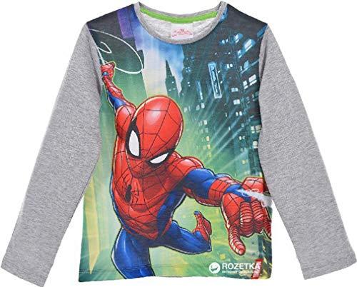 Camiseta Manga Larga de Spiderman Talla 3