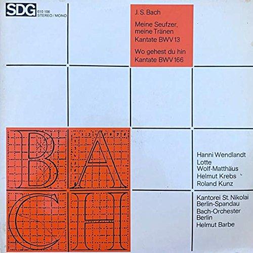 Helmut Barbe - Meine Seufzer, meine Tränen. - Soli Deo Gloria - 610 106