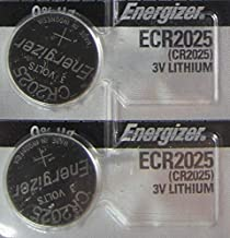 Energizer CR2025 Lithium Battery Pack Of 2