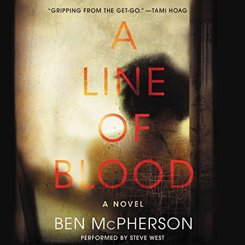 A Line of Blood audiobook cover art