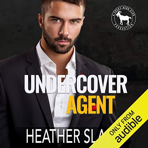 Undercover Agent Audiobook By Heather Slade, Hero Club cover art