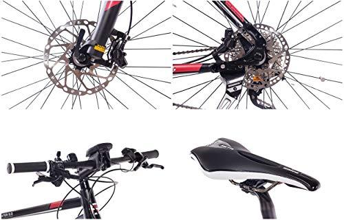 51g91dypQ L - CHRISSON 27,5 Zoll E-Bike Mountainbike Bosch - E-Mounter 2.0 schwarz 52cm - Elektrofahrrad, Pedelec für Damen und Herren mit Bosch Motor Performance Line 250W, 63Nm - Intuvia Computer und 4 Fahrmodi