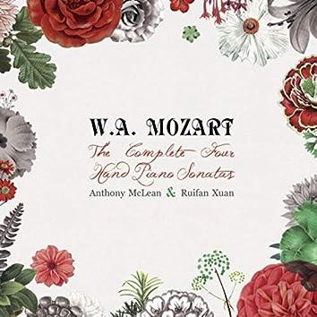 Mozart - The Complete Four-Hand Piano Sonatas