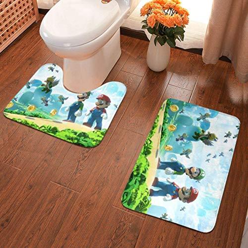 YHKC Decoración del hogar Alfombras y moquetas Alfombras de baño Hogar y Cocina Beige Peach Marble