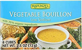 Rapunzel - Vegetable Bouillon Cubes - No Salt Added, 2.4 oz(2 Pack)