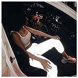 Hunpta @ Frauen Sport Leuchtend Jogginghose Hohe Taille Nachtlicht Leuchtende Sporthose Elastisches cool Leggings Lose Beiläufige Lange Hosen beiläufige Sport-Strumpfhosen (Grau, S)