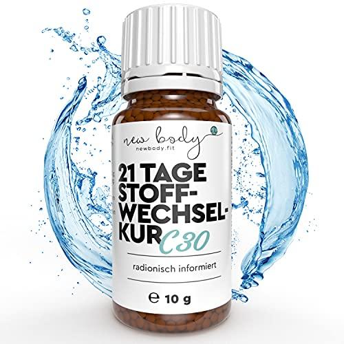 new body® 21 Tage Stoffwechselkur Globuli - 100% hormonfreie Globulis - Qualität wie aus der Apotheke aus Deutschland