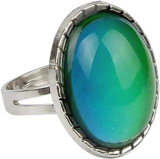 جواهرات جود قابل تنظیم رنگ تغییر حلقه حالت الهام بخش سنگ مرمر عرفانی
