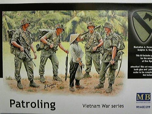 1:35 den Vereinigten Staaten, und erste Airborne Cavalry Division 4 Korper + private 1 weiblichen Korpers Vietnam-Krieg