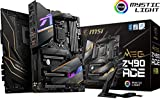 MSI MEG Z490 ACE Gaming Motherboard (ATX, 10th Gen Intel Core, LGA 1200 Socket, SLI/CF, Triple M.2 Slots, USB 3.2 Gen 2, Wi-Fi 6, Mystic Light RGB)