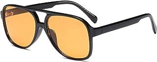 Classic Vintage Aviator Sunglasses for Women Men Large...