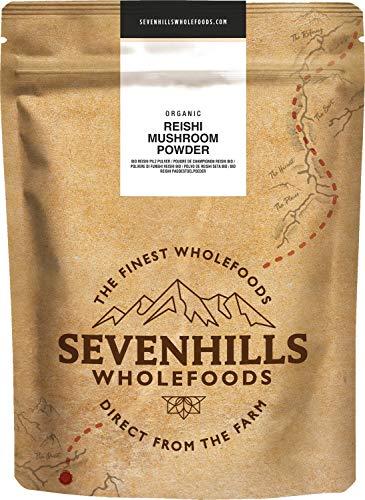 Sevenhills Wholefoods Poudre de champignons bio Reishi 250g