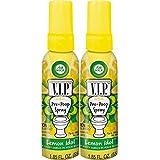 Air Wick VIP Pre-Poop Spray, ídolo de limón, 2 x 1,85 oz