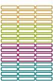 AVERY Zweckform 63003 Etiketten zur Kennzeichnung von Stiften