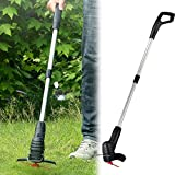 Riiai Handheld Electric <span class='highlight'>Grass</span> Trimmer, Garden <span class='highlight'>Grass</span> Strimmer Trimmer Telescopic Tube Cutter,Cordless <span class='highlight'>Grass</span> Cutter Portable Lawn Mower Weeder Garden Pruning Tool