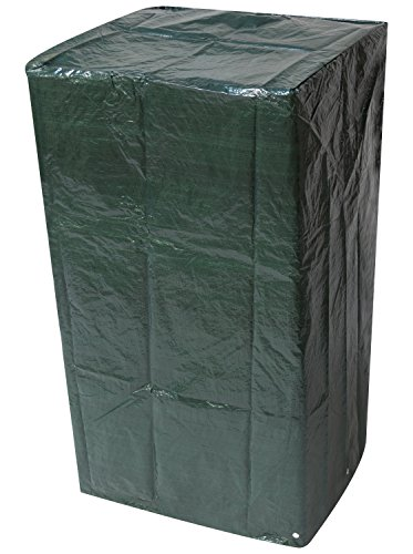 Woodside Outdoor Garden Stacking Chair Cover 0.66m x 0.66m x 1.22m / 2.2ft x 2.2ft x 4ft