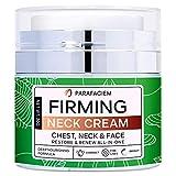 ParaFaciem Neck Firming Cream(Upgraded) - Anti Wrinkle Cream - Saggy Neck Tightener & Double Chin Reducer Cream - Collagen & Retinol Skin Tightening Cream - Anti Aging Moisturizer for Neck & Décolleté