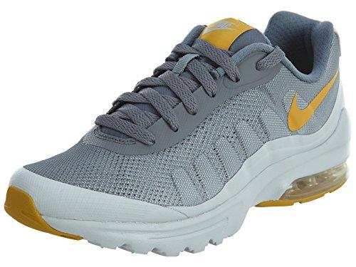 Nike Damen W AIR MAX Invigor Print Laufschuhe, Mehrfarbig (Cool Grau/Gold Dart Orange/Pure Platinum Grau/Weiß), 37.5 EU