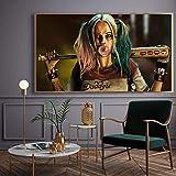 AQgyuh Puzzle 1000 Piezas Película antihéroe Harley Quinn (Harley Quinn) Puzzle 1000 Piezas paisajes Rompecabezas de Juguete de descompresión intelectual50x75cm(20x30inch)