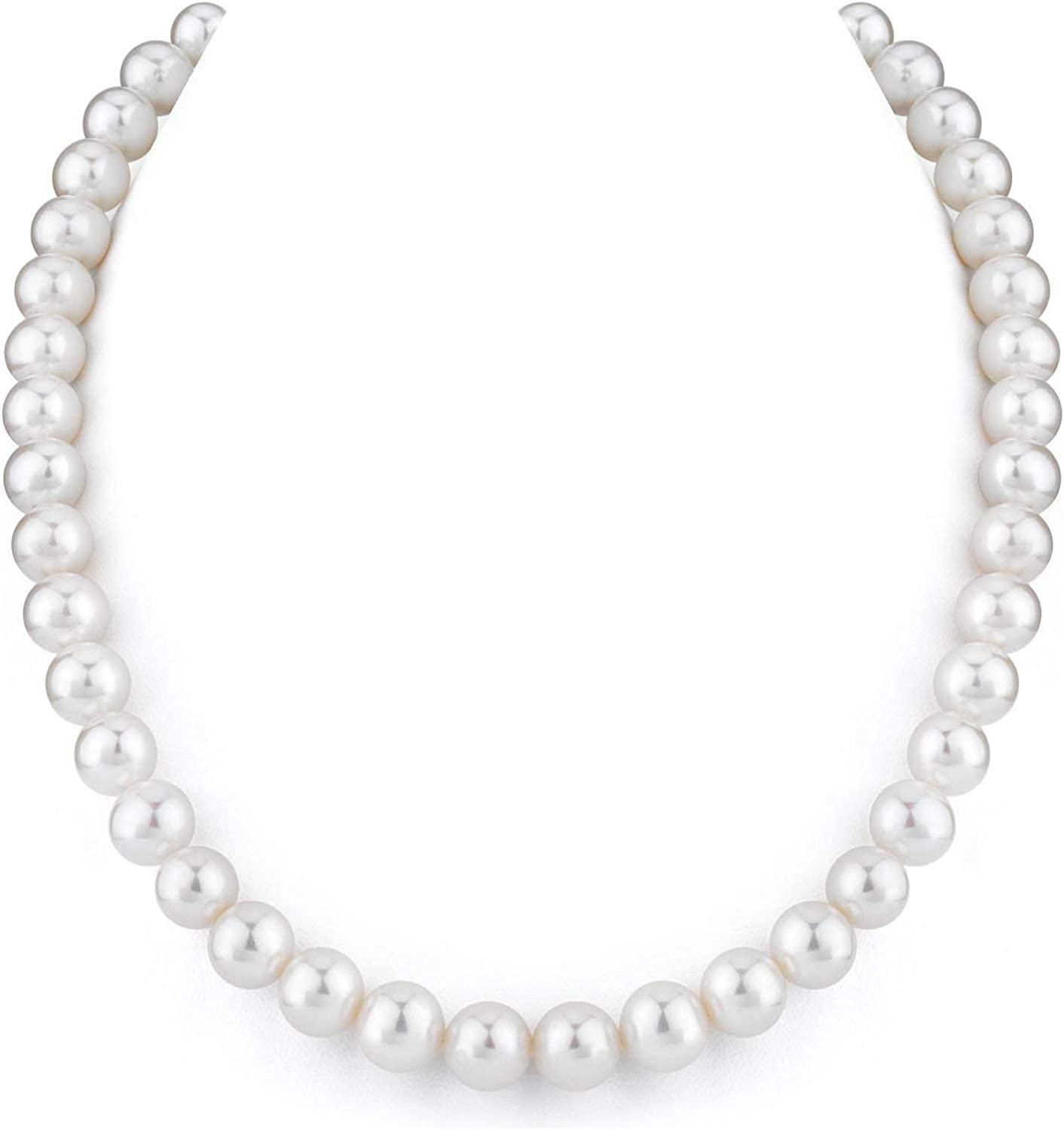 THE Classic Max 45% OFF PEARL SOURCE 14K Gold 9-10mm AAA White Cu Quality Freshwater