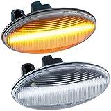 rm-style Clignotant LED Compatible avec Peugeot 107, 108, 1007, 206, 307, 407, 607 | LaRGLAS