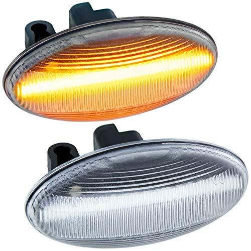 rm-style LED SEITENBLINKER kompatibel für EXPERT, Partner/Tepee, Traveller |KLARGLAS