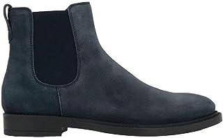 Tod's Mode De Luxe Homme XXM62C00P20RE0U805 Bleu Suède Bottines | Automne-Hiver 20