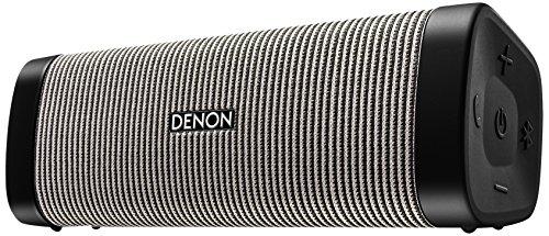デノン Denon DSB-250BT ポータブルワイヤレススピーカー Envaya Bluetooth対応 IPX7 防水/IP6X 防塵 aptX対応 ブラック/グレー DSB-250BT-BG