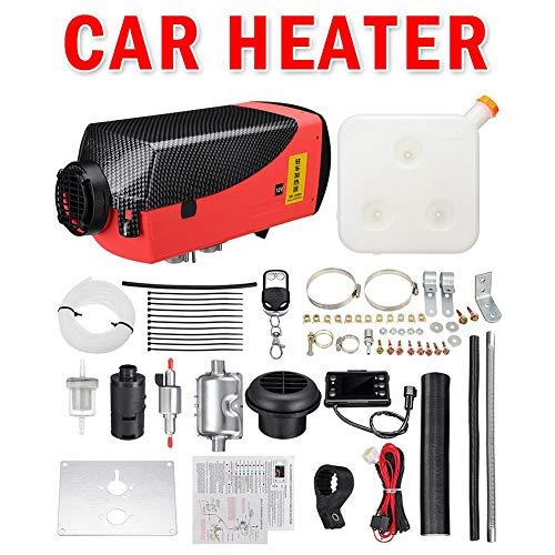 Eruditter Calefacción Auto Calefacción 5kW 12V Calentador de Aire Combustible Calefacción con Mando A Distancia LCD de Pantalla para Caravana, Autocaravana Colgante, camión, Barco