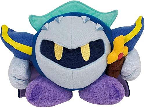 GYINK Kirby Adventure All Star Collection Meta Knight Juguetes de Peluche Cute Kirby Stuffed Plush Dolls Game Toys Niños Regalo de cumpleaños 10cm