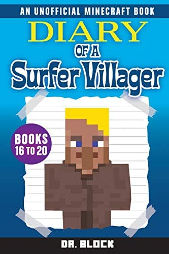 Diary of a Surfer Villager Books 16 20 a collection of unofficial Minecraft books Complete Diary product image
